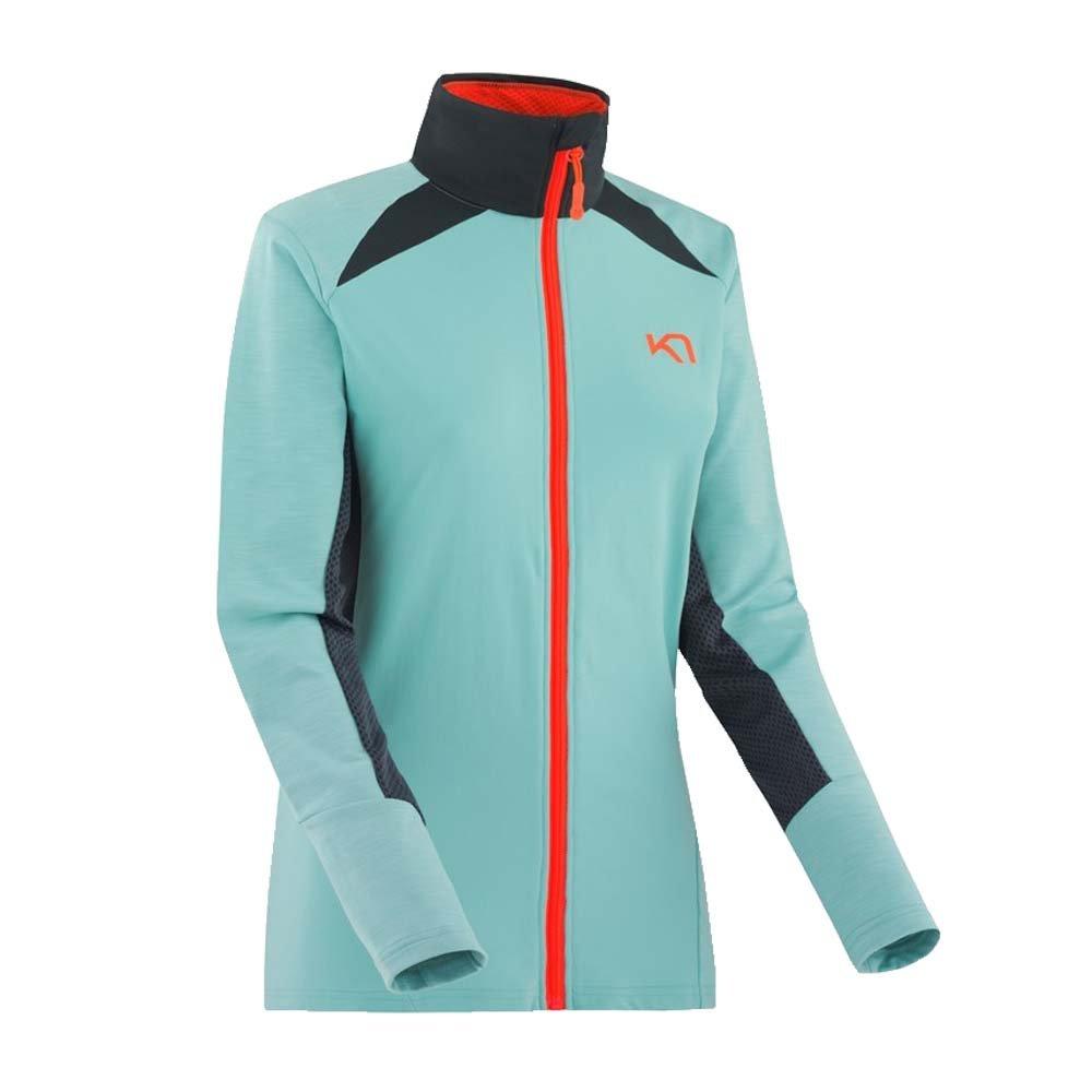 Kari Traa Women's Tina Full Zip Jacket (Glass,XS)