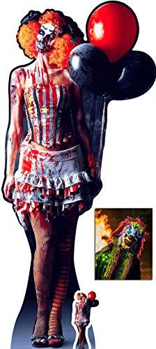 Fan Pack - Scary Female Killer Clown Halloween