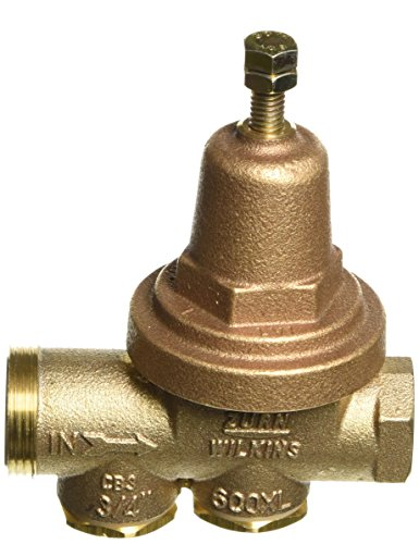 Zurn Wilkins Model 34-600XL 3/4'' Water Pressure Reducing Brass Valve with Integral By-pass Check Valve and Strainer, FNPT Union x FNPT, Lead Free by Wilkins (Image #2)