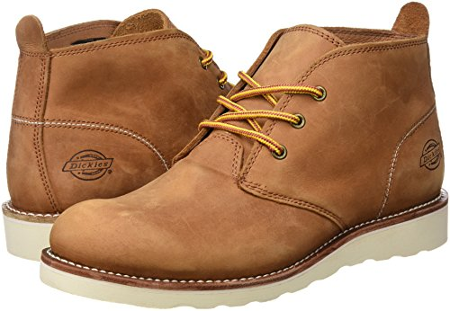 Dickies 09 000003, Scarpe Stringate Uomo Marrone (Brown)