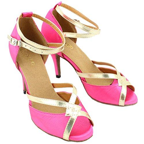 8060 Cfp Da cha Indoor Scarpe Donna Pcp 6 nbsp;cm nbsp;da Jj Ballo Tacco Latin Tango Pink Professionale Cha 8 EqZAqr