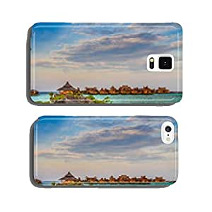 Water bungalows at Mabul Island - Borneo, Malaysia cell phone cover case iPhone6