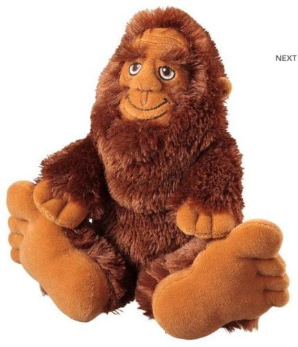 "10"" Bigfoot Sasquatch Plush Stuffed Toy"