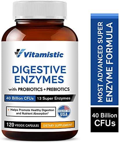 Vitamistic Probiotics Prebiotics Constipation Gluten Free product image