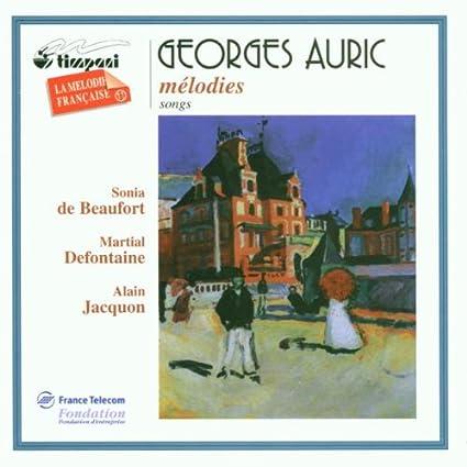 Georges Auric (1899-1983) 51iLn7WvvqL._SX425_