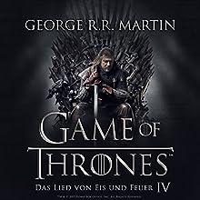 Game of Thrones - Das Lied von Eis und Feuer 4 Hörbuch von George R. R. Martin Gesprochen von: Reinhard Kuhnert