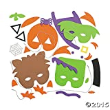 Halloween Mask Craft Kit - Crafts for Kids & Hats & Masks, 1 dozen Assorted Masks