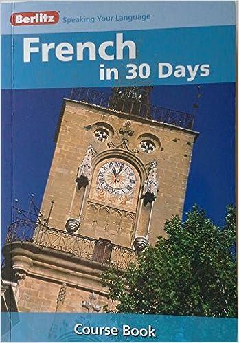 Berlitz French Book