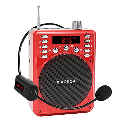 XIAOKOA Bluetooth Portable Amplifier Microphone