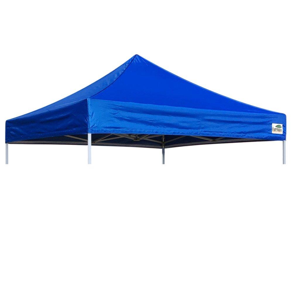 Pop UpキャノピーTop Gazeboテントカバー交換用上部のみ 10x10 400D canopy top-10x10 FeetBlue B00F9M86Y6 10x10|ブルー ブルー 10x10