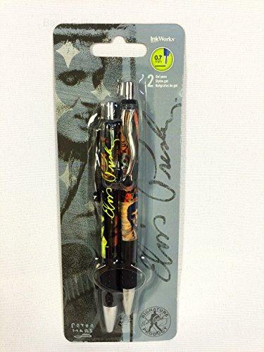 Free Elvis Presley Gel Pen 2-pack