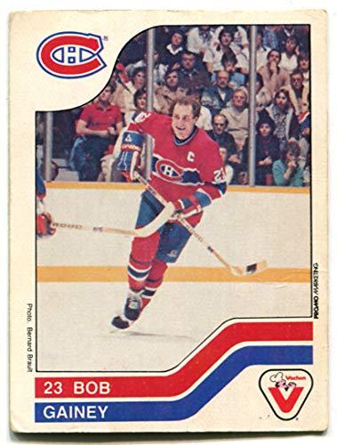 finest selection 383e7 9c4e3 Amazon.com : Vachon 1983/84 Bob Gainey Card #44 Montreal ...