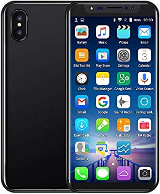 Amazoncom Unlocked Cell Phone58 Inch Dual Hd Camera Face