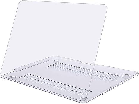 MOSISO Funda Dura Compatible con 2019 2018 2017 2016 MacBook Pro 15 con Touch Bar A1990 A1707 USB-C, Ultra Delgado Carcasa Rígida Protector de Plástico Cubierta, Claro Transparente: Amazon.es: Informática