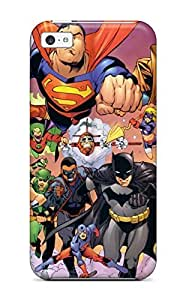 New Iphone 5c Case Cover Casing(justice League)