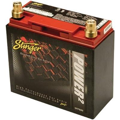 Stinger 680amp Batt W Metal Case