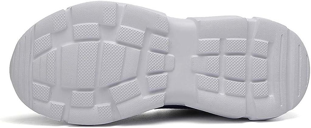 Cuteelf Kinder Sneaker Schuhe Turnschuhe M/ädchen Hallenschuhe Jungen Sportschuhe Live Schnalle Elastisch Kinderschuhe Laufschuhe Mesh Atmungsaktiv Freizeitschuhe