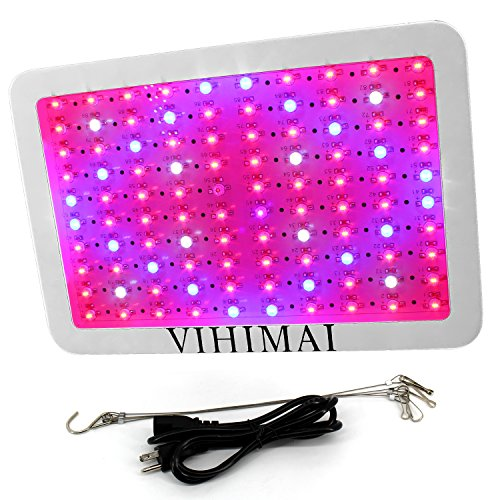VAHIMAI 1000W LED Grow Light Plants Grow Lamp Super Bright Double Chips Growing Bulbs Full Spectrum with UV IR for Green House Veg and Flower for Indoor Plants Weeding Growing Flowering by VAHIMAI