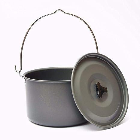 Verus - Juego de sartenes para Acampada y Camping (antiadherentes, para cocinar al Aire