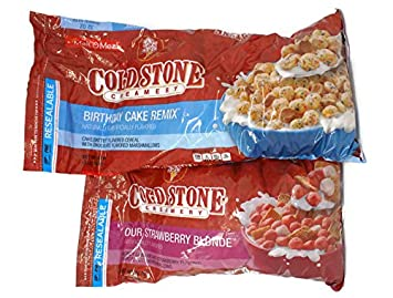 Amazon Com Variety Pack Cold Stone Creamery Cereal 32 Oz