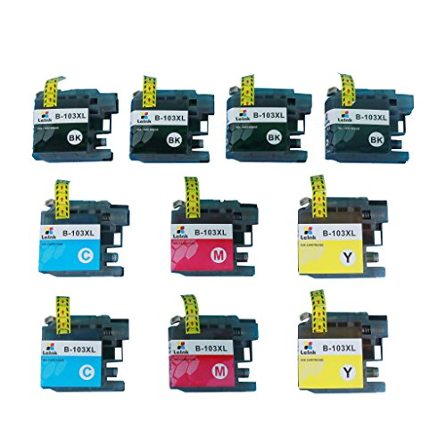 LC103 Ink Cartridge 10 Pack Compatible with Brother MFC J245 J870DW J4310DW J4410DW J4510DW J4610DW J4710DW J6520DW J6720DW J6920DW Printer Photo #3