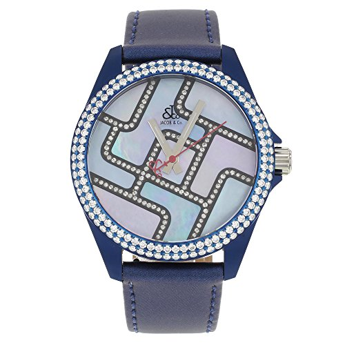 jacob-co-swiss-unisex-40mm-blue-band-case-diamond-bezel-dial-watch-276ct