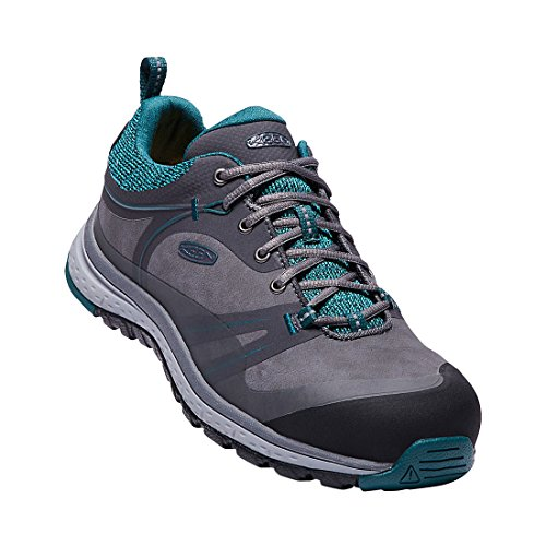 KEEN Utility Women's Sedona Pulse Low Industrial Shoe, Magnet/Baltic, 6 M US by KEEN Utility