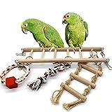 1pc Parrot Toys Climbing Net Hanging Ladder
