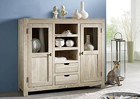 mobili in legno massello acacia PIASTRA ALTA LEGNO MOBILI ...