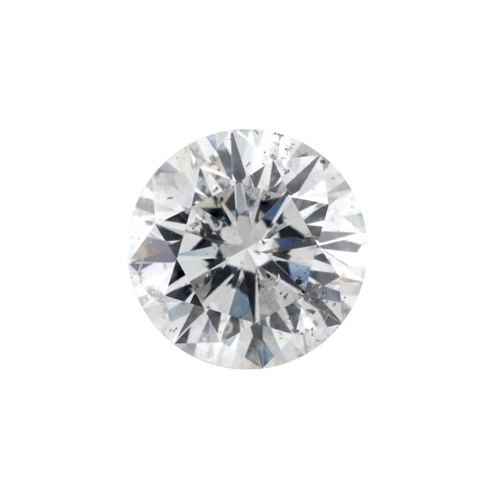 0.23 ct Round Brilliant Cut 3.80 mm G I2 Loose Diamond Natural Earth-mined