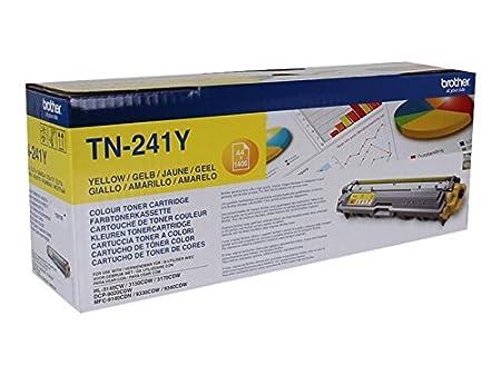 DCP9015CDW HL3170CDW MFC9140CDN y MFC9340CDW Cartucho de t/óner amarillo original para las impresoras HL3140CW MFC9330CDW Brother TN241Y HL3150CDW DCP9020CDW