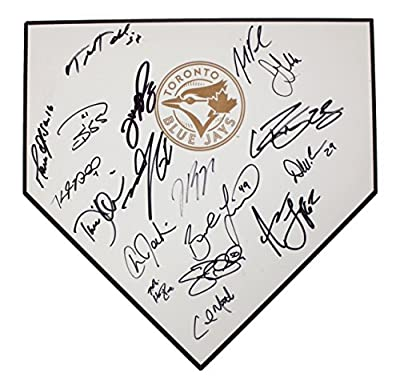 Toronto Blue Jays 2013 Team Autographed Signed Home Plate