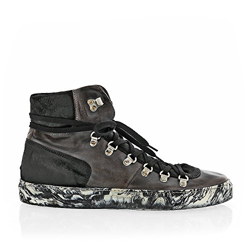 The Original Shoes Grey Lace Up High Top Sneaker by The Original Shoes (Image #1)