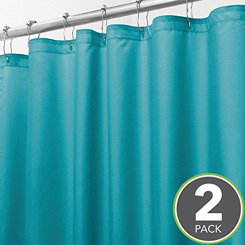 mDesign Extra Long Water Repellent, Mildew Resistant, Heavy