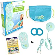 Wusic Deluxe Pack - Womb Music Pregnancy Belly Speaker and Bluetooth Controller for Pregnant Women - Baby-Bump Headphones - Fetal Speaker, Belly Earphones Buds - Baby Shower Gift Idea