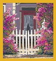 Gift Trenz Flowered Gate Magnetic Bookmark