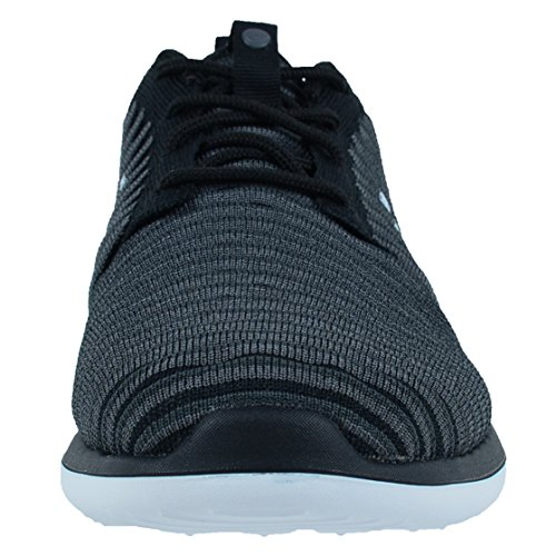 Nike Roshe Two Flyknit (Gs), Zapatillas de Running Niños Negro (Negro (black/white-anthracite-dark grey))