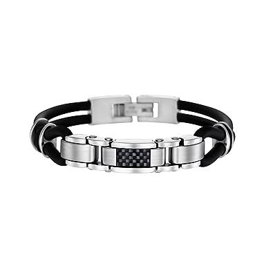 483facd093b5 Lotus LS1182-2 3 - Bracelet Homme - Acier inoxydable  Amazon.fr  Bijoux