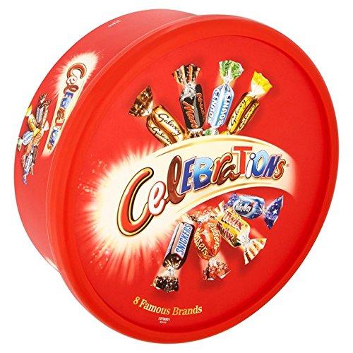 Celebration Chocolates (Celebrations Tub 650g)