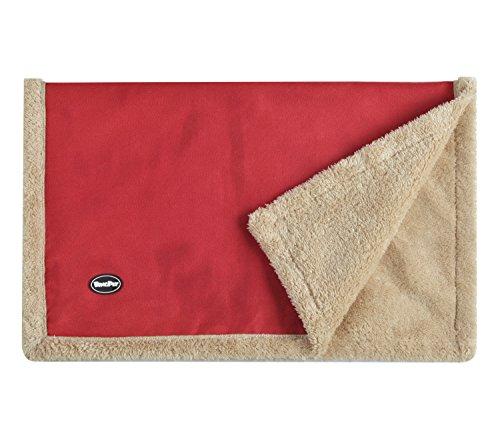 Fleece Throw Blanket Puppy Crate