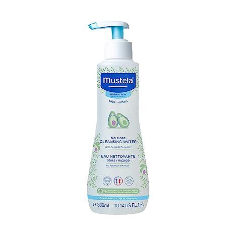 Mustela No-Rinse Cleansing Water - No-Rinse Micellar Water