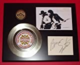 #10: Bruce Springsteen 24Kt Gold Record Signature Series LTD Edition Display