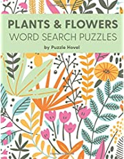 Plants & Flowers Word Search Puzzles: Large Print Word Search Puzzles