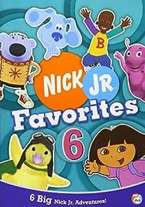 Nick Jr Favorites 6 [Reino Unido] [DVD]: Amazon.es: Cine y