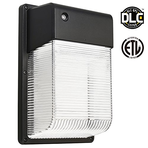 25W Dusk To Dawn LED Wall Pack, Photocell Outdoor LED Wall