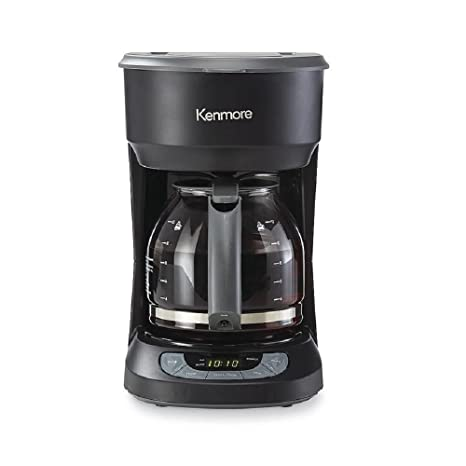 amazon com kenmore 12 cup programmable coffee maker black rh amazon com Kenmore Gas Range kenmore elite coffee maker owner's manual