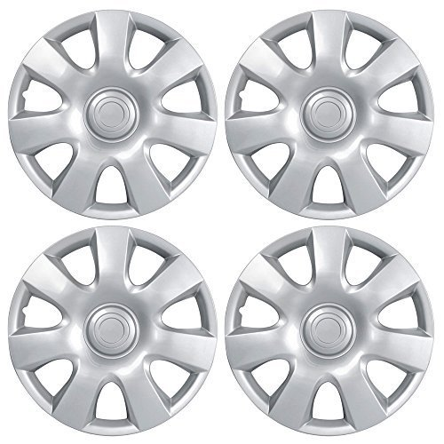 BDK Toyota Camry Hubcaps Wheel Cover, 15