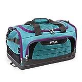 Fila Cypress Small Sport Duffel Bag, Teal/Purple One Size