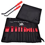 AFA Tooling (13 Pcs) Auto Trim Removal Tool- Strong Nylon Won't Break Like ABS- 2 Fastener Removers Included