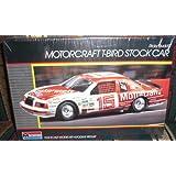 Monogram #2723 Ricky Rudd's Motorcraft T-Bird Stock Car 1/24 Plastic Model Kit by Monogram